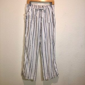 SO Heritage Linen Lounge-Pants w/Drawstring